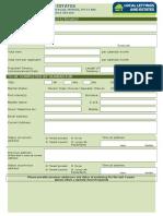 Guarantor Application Mirfield