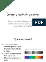 Control y medición del color