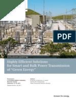 Smart and Bulk Power Transmission