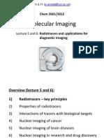 UCL CHEM2601 Imaging L5-6 (Radiotracers)