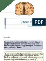 Ppt Refrat Demensia-Anita