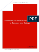 Guidelines for Maintenance Dredging in Trinidad and Tobago