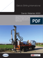 Dando Watertec 9000 (Dando Drilling Indonesia)