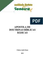 Apostila de Doutrinas Biblicas Basicas