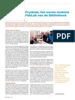FryskLab, het eerste mobiele FabLab van de bibliotheek (META 201403)