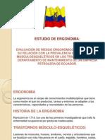 PRESENTACION ESTUDIO ERGONOMIA