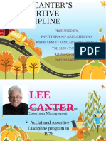 Assertive Discipline by Lee Canter