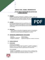 02-03 PROCEDIMIENTO N° 002 - TOMA DE INVENTARIOS DE ACTIVO FIJO Y BIENES MENORES