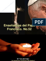 Enseñanzas del Papa Francisco - Nº 52
