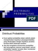 Distribusi Probabilitas Kurva Normal