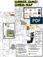 Special Olympics Missouri 2014 State Summer Games Map