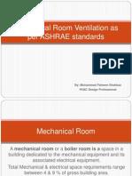 Mechanical Room Ventilation - Presentation