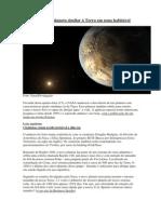 Nasa encontrou planeta similar à Terra em zona habitável