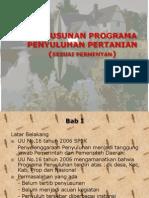 Penyusunan Programa Penyuluhan Pertanian
