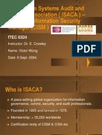 ISACA CISM Presentation
