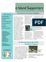 2014 Winter Spring St. Vincent Island Supporters Newletter