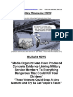Military Resistance 12D10 Be Advised X 2