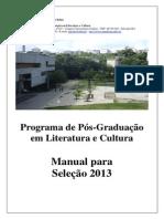 PPGLitC Manual 2013 Definitivo