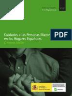 cuidados a las personas mayores en los hogare Españoles
