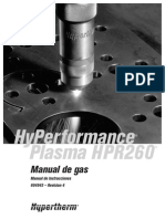 Hyperterm Hpr260 Gas Manual Espanol