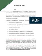 Intenciones de RIO por la vida para marzo 08