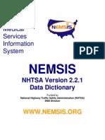 NEMSIS Data Dictionary v2.2.1 04092012
