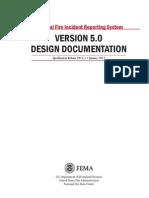 NFIRS 5.0 Design Documentation 1-2013
