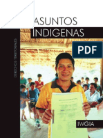 Asuntos indígenas. Derechos Teritoriales - IWGIA