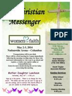 April 20 Newsletter
