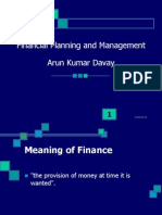 ED-Fin.Plg and Mgt