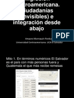 Migración centroamericana consideraciones y retos para la integración