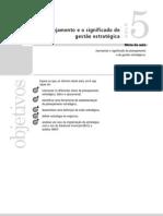 Planejamento e Gestao Estrategicos Aula 05 Vol 1