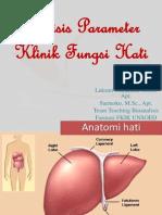 Analisis Parameter Klinik Fungsi Hati