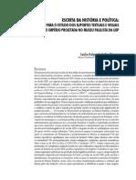 Escrita da História e Política – Contribuição Para o Estudo dos Suportes e Visuais da Memória do Império Projetada no Museu Paulista da USP
