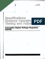 Caterpillar Digital Voltage Regulator _ Service Manual