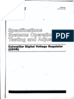 Caterpillar Digital Voltage Regulator _ Service Manual