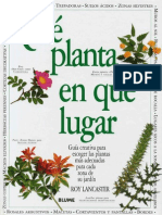Nzqs Botanica Jardineria Libro Que Planta en Que Lugar R Lancaster Blume
