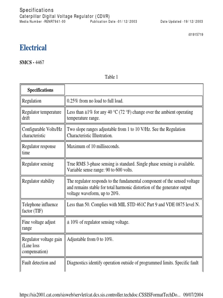 cdvr service manual renr7941 00 sis caterpillar electric