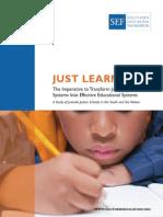 Juvenile Justice Study