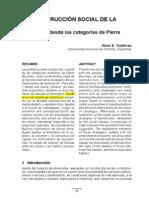 La construccion Social De La Pobreza Un Analisis Desde Las Categorías de Pierre Bourdieu-Alicia B. Gutiérrez