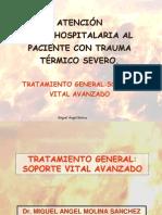 Atencion Extra Hospital Aria Al Paciente Con Trauma Termico Severo