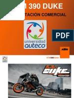 Presentacion Comercial - Tecnica Ktm 390 Duke