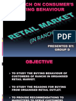 Retail Market in ranchi