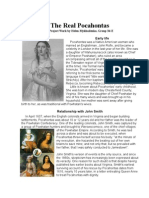 The Real Pocahontas