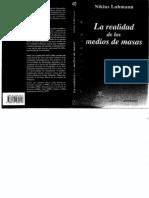 9 Luhmann La+Realidad+de+Los+Medios+de+Masas