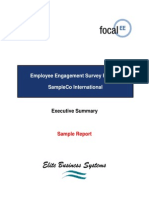 Sample Report - EE Executive Summary