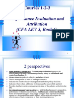 CFA Performance Evaluation Amp Attribution