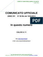 C.U.N.60 BIS del 18-04-2014