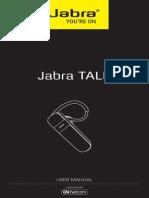 User Manual Jabra TALK US English