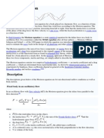 Morison Equation Limitations